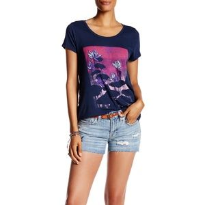 Lucky Brand The Cut-Off Embroidered Short 30